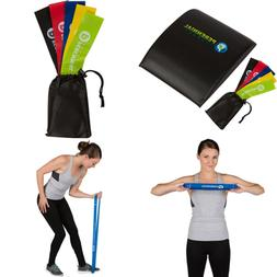 Ab Mat & Resistance Bands Exercise Set - Abdominal Trainer P