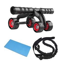 AUTUWT Abs Wheels Fitness Equipment Abdominal Roller Home Gy