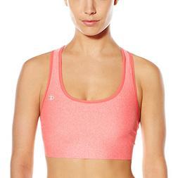 Champion Women's Absolute Bra, Neon Flare Heather/Neon Flare