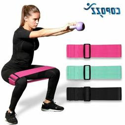 Adjustable Hip Loop Resistance Bands for Legs and Butt Anti