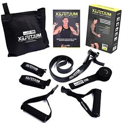 Body Strength Systems  Adjustable Resistance Band Set w/Dual