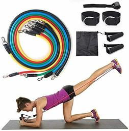 ado stap pilates flexbands home workout resistance