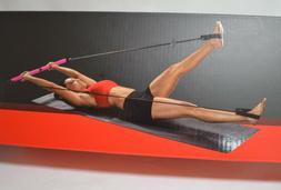 BCG Aerobic Bar Versatile COMPLETE BODY TONING Padded Bar w/