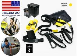 Suspension Straps Trainer Hanging Belt Resistance Pull Rope