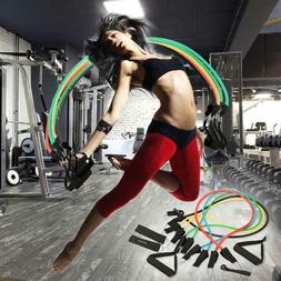Ancheer 11pcs Resistance Band Set Fitness Exercise Band with