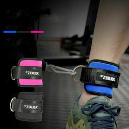 2x Foot Ankle Training Strap Gym D-ring Fitness Leg Sport St
