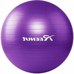 REEHUT Anti-Burst Core Exercise Ball for Yoga, Balance, Work