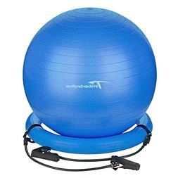 Timberbrother Anti-Burst Exercise Ball/Stability Ball 75cm D