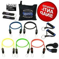 BODYLASTICS Anti-Snap Resistance Bands - 12 PCS Patented Set