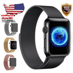 For Apple Watch Band 42mm 38mm 44mm 40mm Series 4/3/2/1 Mila