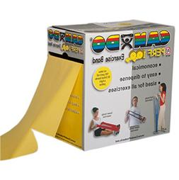 CanDo Bands with Perforations - Exercise Band Roll, Latex Fr