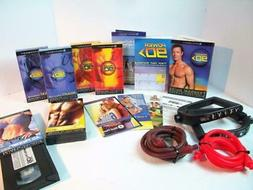 Beachbody  Resistance Bands and   VHS Workout Tapes Power 90