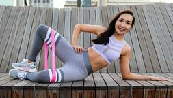 Beachbody Resistance Bands For Legs and Butt Exercise Equipm