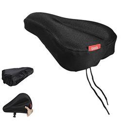 Aegend Bike Gel Seat Cushion Cover Bicycle Saddle Pad Comfor