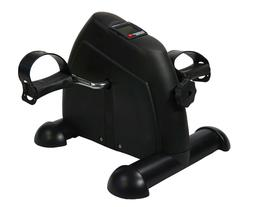 Black Mini Pedal Exerciser Bike Fitness Cycle Leg/Arm Statio