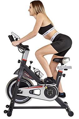 Body Xtreme Fitness ~ Black/Silver Home Exercise Bike, Worko