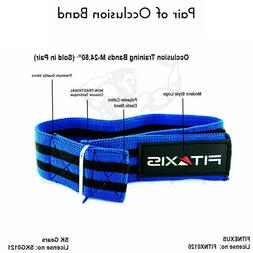 FITAXIS Blood Flow Restriction Band Muscle Strength Arm Stra