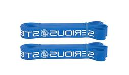"Blue - #3PAIR #3  Serious Steel 41"" Pull Up Bands 