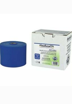 blue latex free theraband resistance band physical