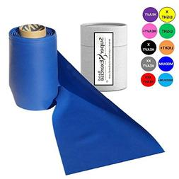 Super Exercise Band Blue Medium Strength Latex Free Resistan