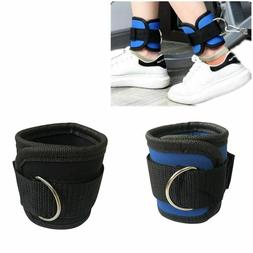 Body Building Resistance Band D-ring Ankle Strap Leg Ankle C