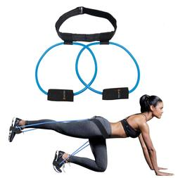 Booty Band Exercise Belt - Resistance Bands for Leg and Butt