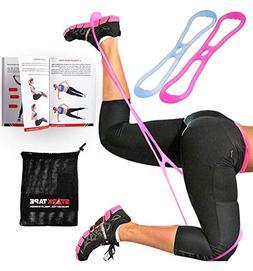 Starktape Booty Belt Resistance Bands | Set of 2 Fitness Boo