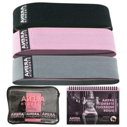 Arena Strength Booty Fabric Bands: Fabric Resistance Bands f