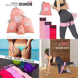 Shinyee Booty Hip Bands High Resistance Workout Exercise Ban