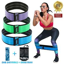 Fabric Hip Circle Bands for Legs and Butt Resistance Booty W
