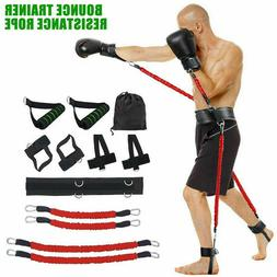 New Fitness Resistance Bands Boxing Sports Bouncing Strength