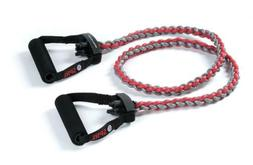 SPRI Braided Xertube Resistance Band Exercise Cords, Heavy
