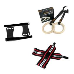 Bundle Deal Gymnastics Grips Gloves Gymnastic Rings Weight L
