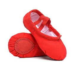 STELLE Girls/Women's Canvas Ballet Slipper Dance Shoes Ultra