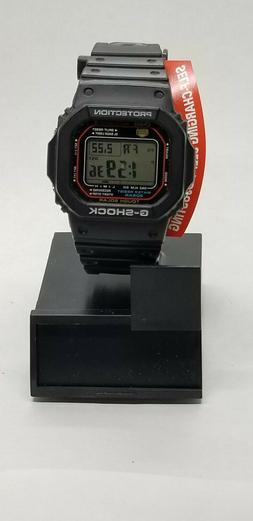 Casio Men's G-Shock GWM5610-1 Tough Solar Black Resin Sport