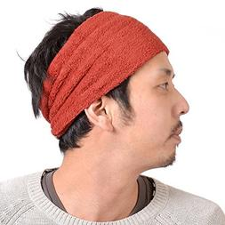 Casualbox mens Made in Japan Elastic Headband Moisture Wicki