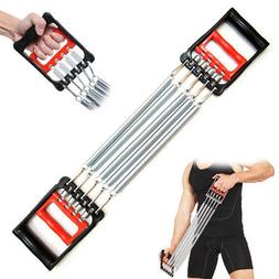 Chest Expander Adjustable 5 Spring Exercise Fitness Strength