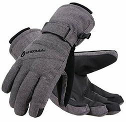 Classic Non-Slip Touchscreen Ski Gloves w/ Thinsulate Inner