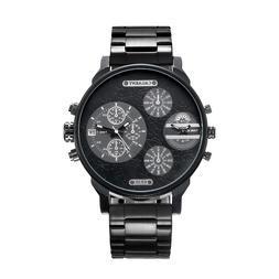 Classy <font><b>52MM</b></font> Big Case Quartz Watch For Me