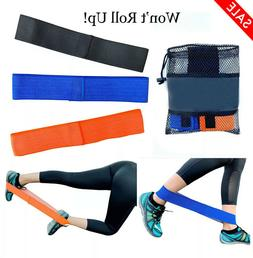 Booty Bands Cloth Fabric Resistance Loop Set of 3 Exercise W