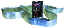 TheraBand CLX Resistance Band with Loops, Fitness Band for H