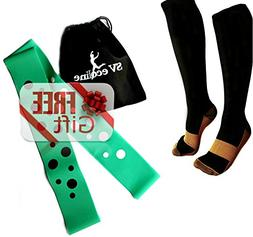 Compression Socks, Men & Women, Anti-fatigue, Varicose Veins