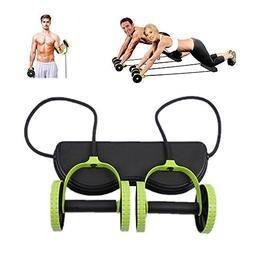 Darhoo New Sport Core Double AB Roller Wheel Fitness Abdomin