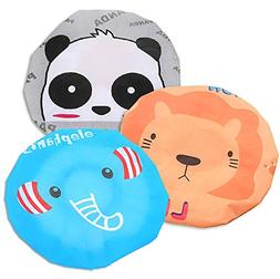 Fast and Good Cute Cartoon Waterproof Elastic Shower Cap Bat