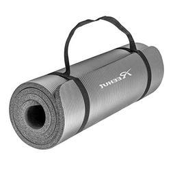 High Density NBR Exercise Yoga Mat for Pilates, Fitness & Wo