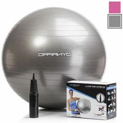 DynaPro Direct Exercise Ball with Pump GYM Ball Yoga Swiss B