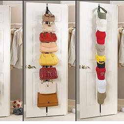 Door Strap - Hat Clothes Organizer Hanging Cap Rack Holder O
