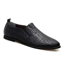 zxcvb Mens Double Monk Strap Slip On Loafer Leather Oxford F
