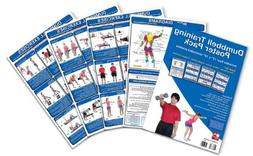 Dumbbell Training Poster Pack: Dumbbell Workout Routines - D