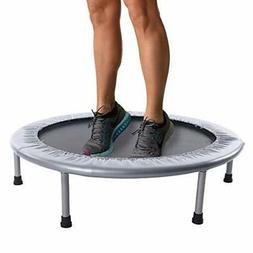 Durable and Heavy Duty 36-inch Folding Trampoline- Supports